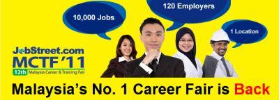 Malaysia Career Training Fair MCTF 2011 Kuala Lumpur