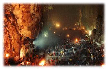 Thaipusam Celebration at Batu Caves, Selangor Malaysia