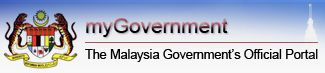 MyGovernment Official Web Portal for Government of Malaysia